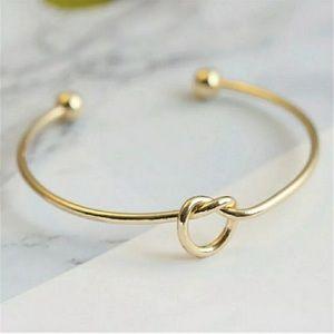 3 for $15 Beautiful Gold Love Knot Bangle Bracelet